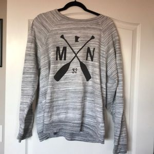 Ultra Soft Gray Minnesota Sweatshirt